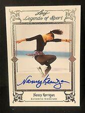 NANCY KERRIGAN 2012 Leaf Legend Of Sport AUTOGRAPH Card SIGNATURE Ser #d 05/10