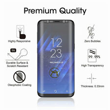 3D Full Glue Tempered Glass Screen Case Friendly for Samsung Galaxy S8 S9 S10+