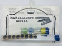 Vintage CLARITY Stained Glass & Marble Marblescope Refill Kit