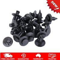 6mm 8mm Hole Plastic Trim Clips Car Bumper Door Rivets Fastener 20pcs mF
