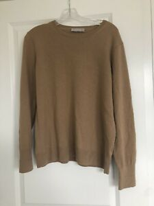 Everlane Black ReCashmere Cashmere Wool Blend Crewneck Pullover Sweater Size XL