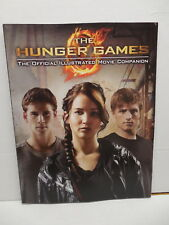 Hunger Games Official Illustrated Movie Companion Book Jennifer Lawrence Cover