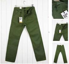 Vaqueros de hombre rectos color principal verde