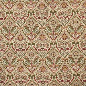 Hidcote Claret - By iliv Traditional, Damask Fabric - 4.5 Metre Piece