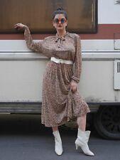 Barth KLEID M Maxi Folklore Ethno 90er True VINTAGE bohemian dress