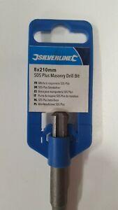 8x210mm masonry drill bit