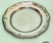 Fine English Silver Plated Circular Plate