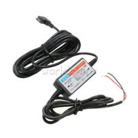 Mini USB Wire Cable Car Charger For Camera Recorder DVR Exclusive Power 2A 5V