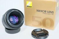 Nikon Nikkor 50mm f/1.8 AF D Lens, MINT in BOX