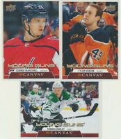 2020-21 UPPER DECK HOCKEY SERIES 1 CANVAS Young Guns Pick Your Card