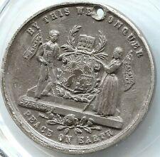 Canada - 1793  - Peace On Earth Temperance Medal - Lot EC# 2475