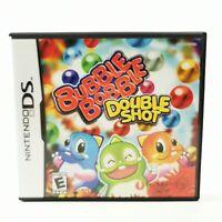 ~ Nintendo DS Lite 2DS 3D ~ Bubble Bobble ~ Double Shot ~ Boxed Game ~ Manual ~