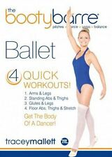Ballet Barre Cardio and Toning EXERCISE DVD - Tracey Mallett BOOTY BARRE BALLET