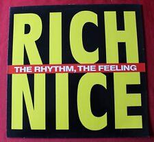 Rich Nice, the rhytm the feeling, Maxi Vinyl