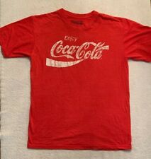 Coca Cola Men's Or Women's Red T-shirt Size Medium Casual Shirt
