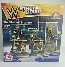 WWE Wrestling Stack Down Rhodes Brothers Goldust Stardust 143 Pieces Set 21071