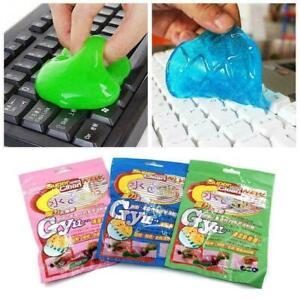 Soft Sticky Schoon Lijm Slime Dust Dirt Cleaner Car Fav Cleaning E2N7 L6W1
