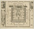 Platte gront van Salomons Tempel (..) - Dapper (1677)