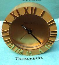 Tiffany & Co. Vintage Atlas Desk/Table Clock