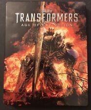TRANSFORMERS: AGE OF EXTINCTION BLU RAY + DVD BEST BUY EXCLUSIVE STEELBOOK