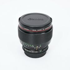 Canon FD 85mm f/1.2 L Lens with EF Mount Adapter