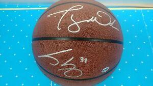 Miami Heat Dwyane Wade & Shaquille O'neal Autographed Basketball W/ C.O.A. B2