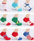 Socks Low Color Cut 1 Pair New Crew Men Cotton Ankle Socks Casual Fashion Sport