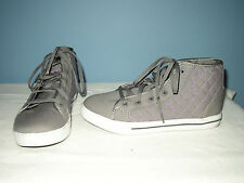 Champion Women's Sneakers - Gray and Pink - Size 6