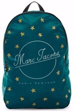 $150 Marc Jacobs Printed Star Packable Nylon Backpack in Electric Teal