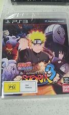 Naruto Shippuden Ultimate Ninja Storm 3 Game PS3 (NEW)