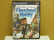 Play Station 2 FLUSHED AWAY Complete and in Good Condition Rated E 2006 US Nice