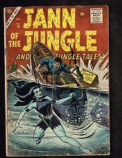 "Jann Of The Jungle #14 ~ ""Double Danger!"" ATLAS ~ 1955 (3.0)"