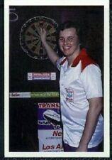 Scarce Trade Card of Keith Deller, Darts 1986