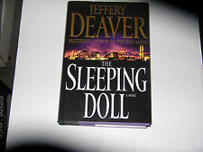 The Sleeping Doll by Jeffery Deaver (2007) SIGNED 1st/1st