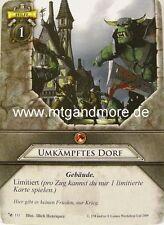 Warhammer Invasion - 1x Umkämpftes Dorf  #111 - Base Set