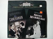 Cameraman, The & Spite Marriage 1928-29 Silent LaserDisc Double Feature NEW MINT