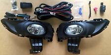 Mazda 3 BK1 Neo & Maxx Sport FOG LAMPS set LH+RH + loom 2004-06 pair SPOT LIGHTS