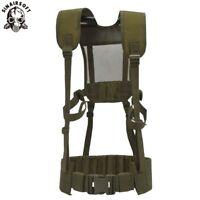 Tactical Vest Belts MOLLE Military Harness Shoulder Battle Belt Combat Chest Rig