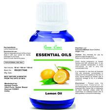 LEMON OIL 100% NATURAL PURE UNDILUTED UNCUT ESSENTIAL OIL 5ML - 100 ML