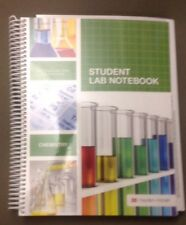 student lab notebook, chemistry, 100 duplicate sets, 9781930-882096