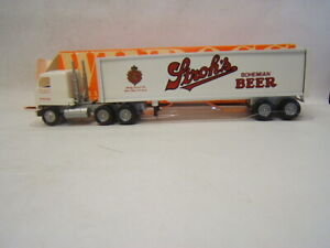 Winross Stroh's Bohemian Beer Duke Dist. Lancaster PA Mack Cab MIB 1/64