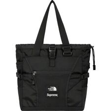 SUPREME x THE NORTH FACE ADVENTURE TOTE - BLACK - S/S 2020 - 100% AUTHENTIC