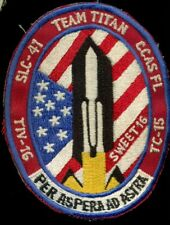 USAF DOD Classified Satellite Titan IV 16 - Sweet 16 NRO Payload Patch S-13