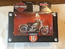 Maisto 1:18 Harley-Davidson 1958 Duo Glide Series # 16 In Box
