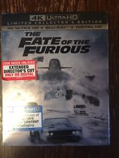 The Fate of the Furious 4K UltraHD Limited Collector's Edition Blu Ray Digital