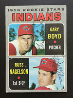 Gary Boyd & Russ Nagelson Signed 1970 Topps Baseball Card #7 Autograph 2 Auto 3