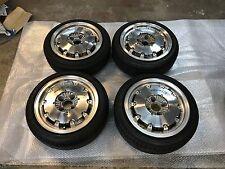 "JDM 14"" MUGEN CF48 AERO DISK RARE Wheels Rims 4x100 ITR CTR CRX EF9 EG6 SIR"