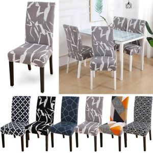 Dining Chair Covers Stretch Removable Washable Home Protective Stretch Covers
