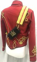 """Genral's Imperial Hussar Red OfficerJacket 42""""//M /& 44""""//L 46""""//XL"""