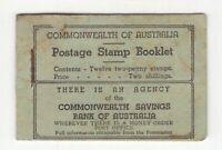 Australia Postage Stamp Booklet SB 26c (1935-1938) 1 stamp only CV £475 if full